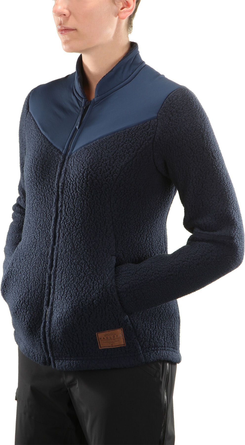 Haglöfs W s Pile Jacket Deep blue Tarn blue - addnature.com 2015410348578